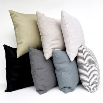 ID Proper Stuff Premium Linen Throw Pillows