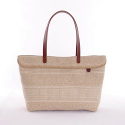 ID Clementine Tote Bag Made from Jute-Cotton Blend